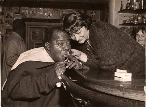 Louis Armstrong Gabby Lecarbonnier